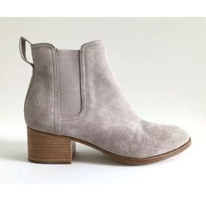 Rag & Bone Walker Suede Leather Chelsea Ankle Boot